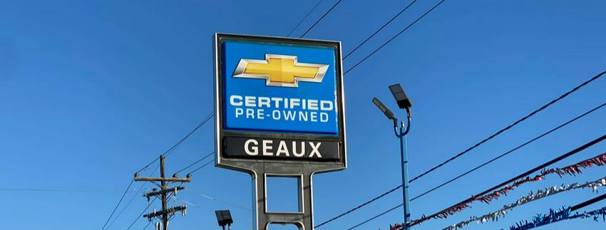 Geaux Chevrolet Cover